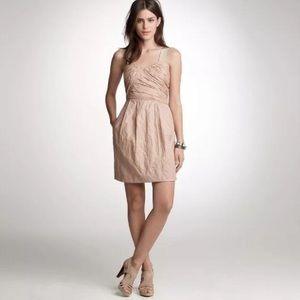 J. Crew Vivette Cotton Dress with Pockets